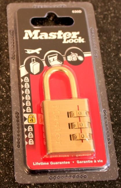 Masterlock Combination